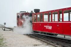 Schafberg järnväg - Österrike Royaltyfri Fotografi