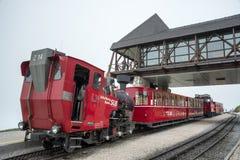 Schafberg järnväg - Österrike Royaltyfri Bild