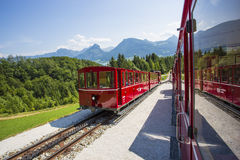 Schafberg Train Royalty Free Stock Photography