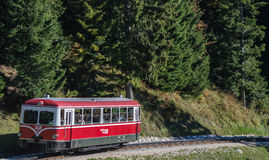 Schafberg Train Stock Photo