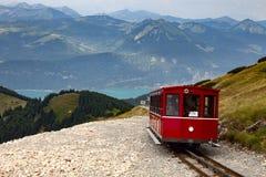 Schafbergbahn Foto de archivo