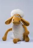 Schafe lokalisiert auf weißem Hintergrund Lizenzfreies Stockfoto