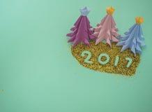 Schaffen Sie frohe Weihnachten Stockbild
