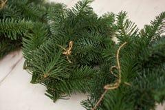 Schaffen Sie große Winterzusammensetzungen handmade Lizenzfreies Stockbild