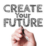 Schaffen Sie Ihre Zukunft Stockfotografie