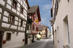 Schaffhausen is a city in northern Switzerland Royalty Free Stock Image