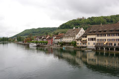 Schaffhausen is a city in northern Switzerland Stock Image
