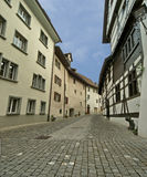 Schaffhausen is a city in northern Switzerland Stock Photos