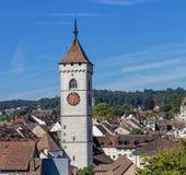 Schaffhausen cityscape Stock Images