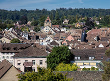 Schaffhausen cityscape Royalty Free Stock Images