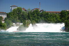 Schaffhausen falls Royalty Free Stock Photography