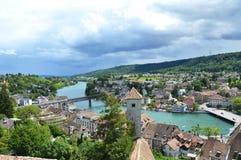 Schaffhausen Schweiz fotografering för bildbyråer