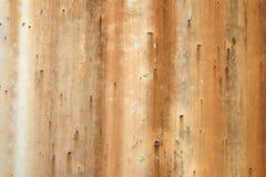 Schafft altes rostiges Bratenfett befleckte Hintergrundbeschaffenheit mit dem Tropfen von rostigen Linien einzigartige Hintergrun lizenzfreie stockbilder