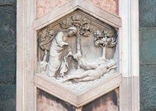 Schaffung von Eve, Florence Cathedral Stockfotografie