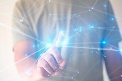 Schaffung von Technologien für Verbindung Gemischte Medien stockfotos