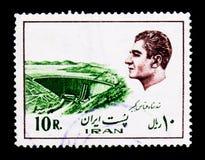 Schah Abbas Kabir Dam, byggnader och industrianläggningar, Mohammad Royaltyfria Foton
