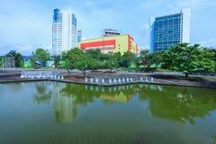 Schah Alam Lake Gardens Arkivbilder