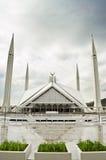 Schah Faisal Mosque Islamabad Royaltyfria Bilder