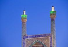 Schahmoskén i Isfahan, Iran Royaltyfria Bilder