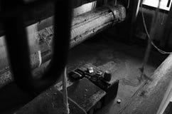 Schal-Fabrik in Kaschmir Stockbilder
