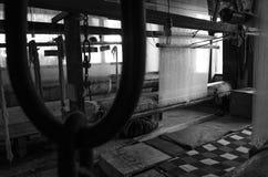 Schal-Fabrik in Kaschmir Stockbild