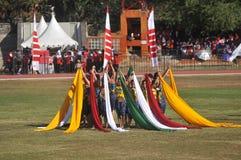 Schal-Tanz in Indonesien Lizenzfreies Stockbild
