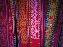 Schal von Borneo Stockbild