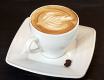 Schale Cappuccino Stockbild