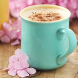 Schale Cappuccino Lizenzfreies Stockfoto