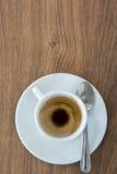Schale Cappuccino Lizenzfreie Stockfotos
