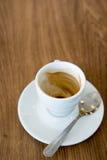 Schale Cappuccino Lizenzfreie Stockbilder