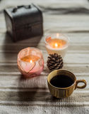 Schale coffe Stockfoto