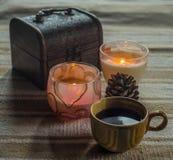 Schale coffe Lizenzfreies Stockfoto
