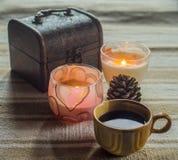 Schale coffe Stockfotografie