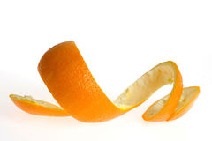 Schale der Orange Lizenzfreie Stockfotos