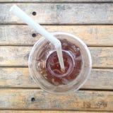 Schale Eiskaffee Stockbilder