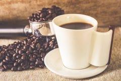 Schale Espresso Stockfoto