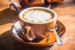 Schale Espresso Stockbilder