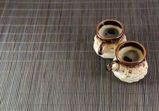 Schale Espressokaffee Lizenzfreies Stockbild