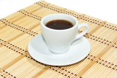 Schale Espressokaffee Stockbilder