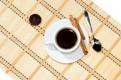 Schale Espressokaffee Stockfotos