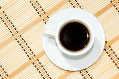 Schale Espressokaffee Lizenzfreies Stockfoto