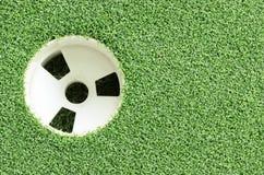 Schale Golfclub und Gras Lizenzfreies Stockbild