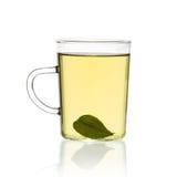 Schale grüner Tee Stockfotos