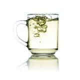 Schale grüner Tee Lizenzfreie Stockbilder