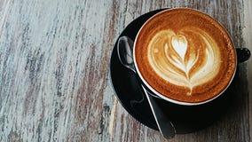 Schale latté Stockbilder