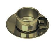 Schale Metall stockfoto