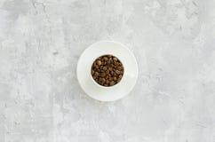 Schale mit Kaffeebohnen Stockbilder