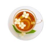 Schale mit Tee Stockfotos