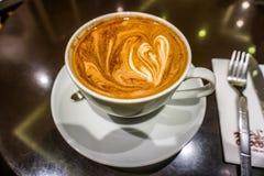 Schale Mocca-Kaffee stockfotografie